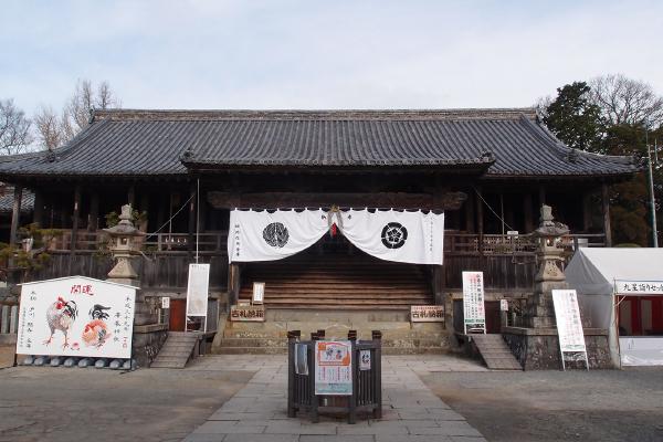 国指定重要文化財の拝殿(廣峯神社)