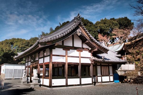 200段の階段を登る男山八幡宮(千姫天満宮、男山八幡宮)